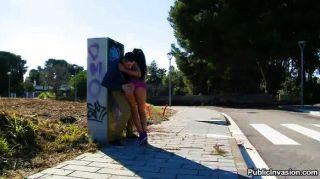 fiesty朱利亞德盧西亞在巴塞羅那得到性交