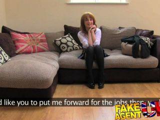 fakeagentuk英國女孩第一次肛門在相機上