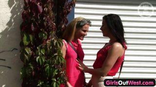 女孩出去西方的熱澳大利亞女同性戀女孩