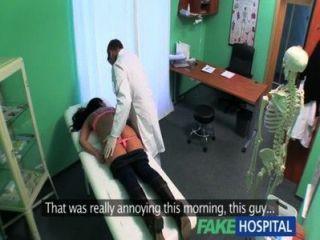 fakehospital緊熱濕的病人呻吟樂趣
