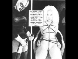 夢想的一個虐待者奴役迷信漫畫