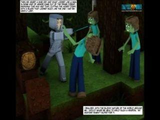 3d漫畫:世界minecrack編年史26