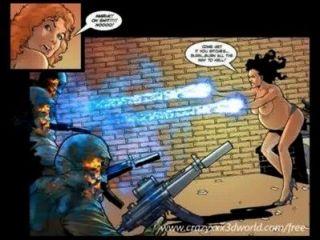 2d漫畫:cyberian國家。第4集
