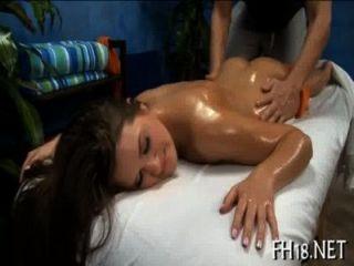hawt 18歲的女孩得到性交