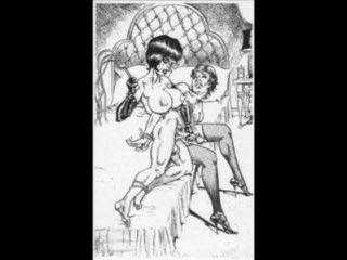 鞭打和標記的fendish femdom bdsm藝術漫畫漫畫
