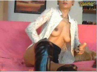 有一個很好的時間在一個網絡攝像頭展示與... brunettealesya 4