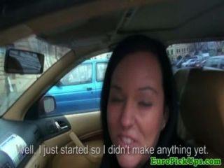 閃爍的出租車女孩提供性別的現金