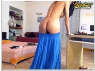 有一個很好的時間在一個網絡攝像頭展示與... brunettealesya 5