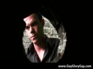 同性戀黑白色的白頭髮的gloryhole性色情31