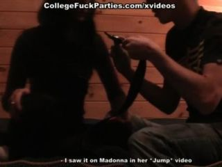 性感的學生處於激情,而核心口交他媽的
