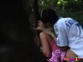 cogiendo a la novia en el bosque onlyteensxnet