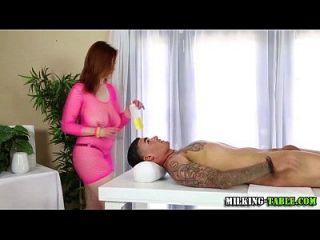 性治疗师棍子titfuck