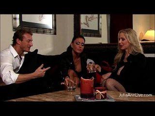 julia ann&jessica有约束,堵塞,和他妈的!