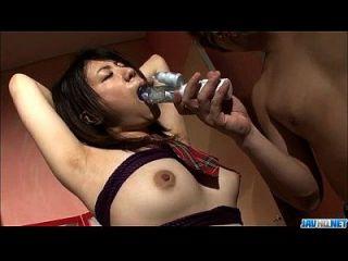yuri平山迷人的色情场面在束缚