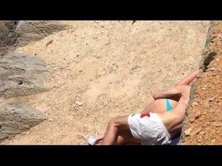 在海滩上的性别