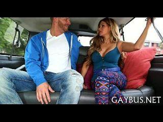 野生阴茎骑在车内