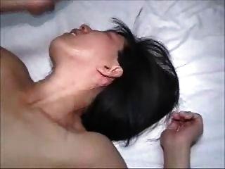熱的妻子得到一個餅的丈夫得到馬虎的秒