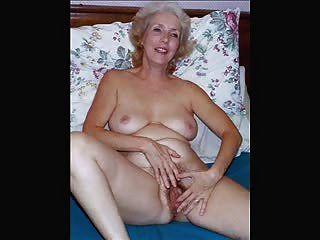 成熟幻燈片致力於老年婦女的美麗