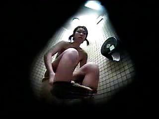 性感隱藏的相機在日本更衣室