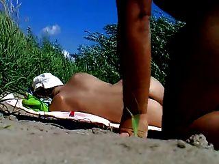 rus公共海灘閃光和觀看女孩85 nv