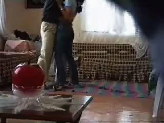 阿拉伯女孩他媽的鄰居間諜凸輪