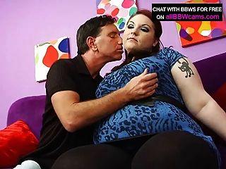 bbw紅頭髮他媽的巨乳和脂肪屁股1