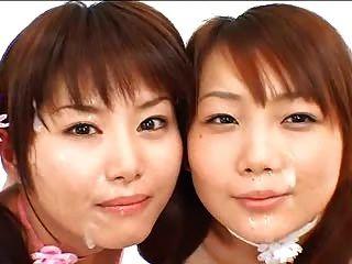 2亞洲女孩bukkake