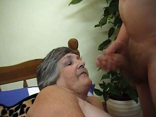 75歲的貪婪奶奶libby 3some