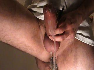 前列腺按摩不停止射精