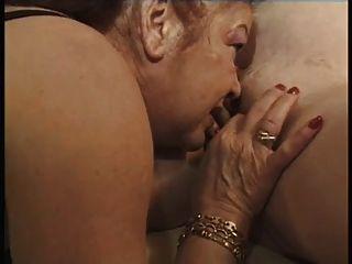 兩個懷孕與一個老女同性戀者