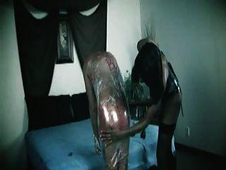 cukegirl黑色人妖統治人奴隸塑料束縛