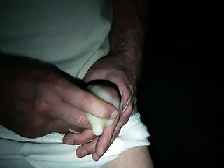 拍攝我的一個巨大的負載在避孕套(特殊要求)