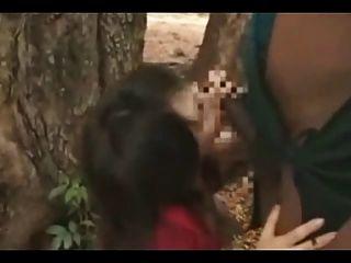 非洲人他媽的日本女孩