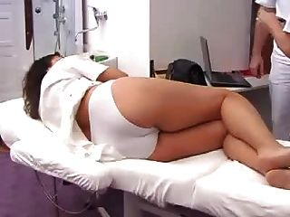 孕婦充分的gyno考試