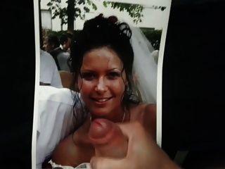 熱的新娘的致敬