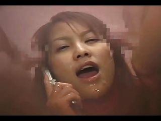 電話bukkake