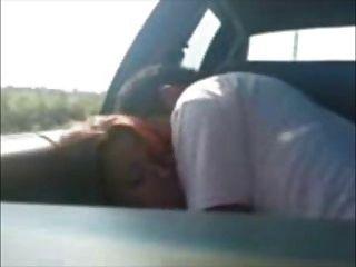 puedes gritar si quieres!mexicanos cogiendo en el coche!