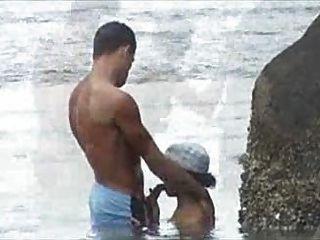 flagra na普拉亞海灘他媽的