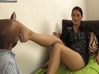 女主人米歇爾腳崇拜