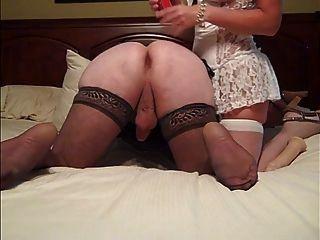 妻子使用她的丈夫bvr