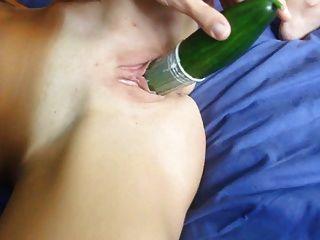 我玩兩個大黃瓜anal&dp業餘的ciprea
