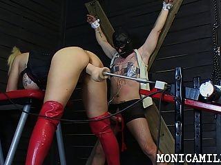 鞭打和釘住由monicamilf從挪威