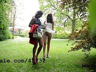 2個女同性戀者在parc
