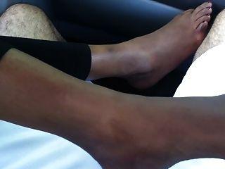 腳戀物癖印度腳(性感footjob,鞋底和腳趾戲弄)