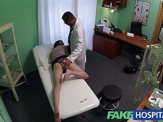 fakehospital激情紅發緊緊陰部原因餅