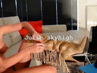 可愛的女孩裸體配件gml大腿高靴子&大胸部