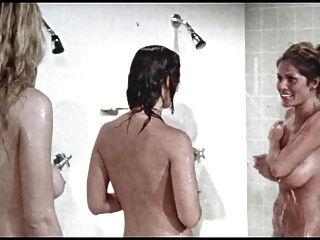 淋浴場景。監獄女孩,復古
