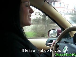 拉女性出租車司機吮公雞
