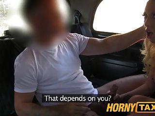 hornytaxi我前肛門creampie的女朋友