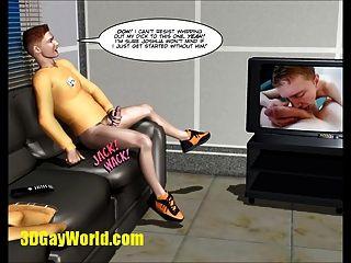 隱形公雞同性戀科幻3d卡通動畫漫畫故事
